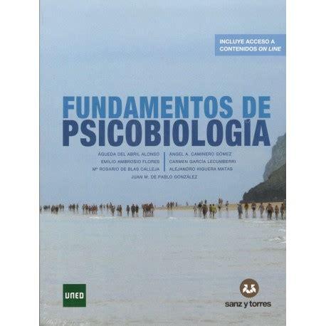 FUNDAMENTOS DE PSICOBIOLOGÍA (novedad curso 2016-17 ...