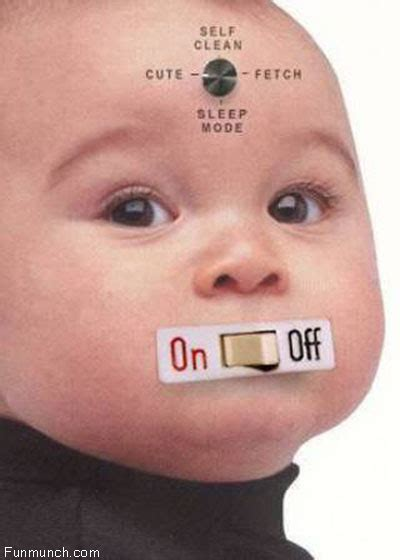Funny Baby On off Image | Funny Baby | Graphics99.com