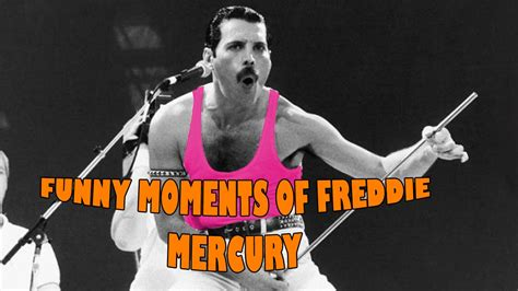 Funny / Best Moments of Freddie Mercury   YouTube