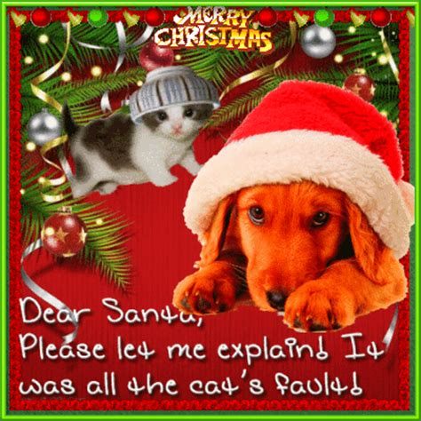 Funny Dog Christmas. Free Humor & Pranks eCards, Greeting ...