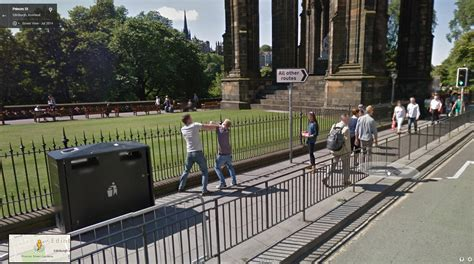 Funny images google street view uk