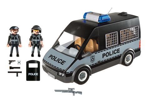 Furgón de Policía con Luces y Sonido   6043   Playmobil ...