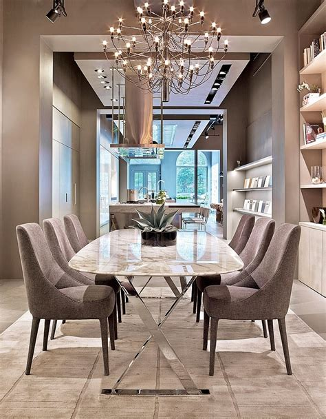 Furniture: Dining Room Clear White Chandelier For Elegant ...