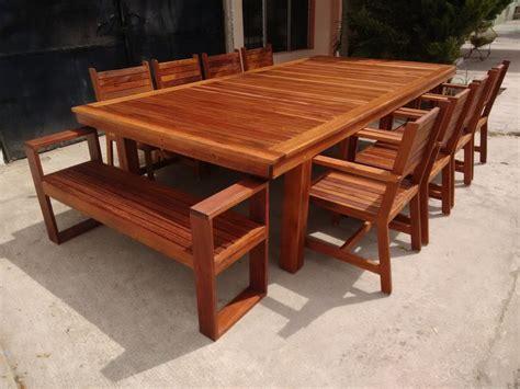 Furniture: Puff Mesa Ratona Exterior Madera Muebles Jardin ...