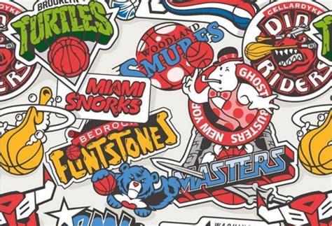 Fusionan dibujos animados de los años 80 con los logos de ...