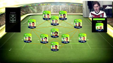FUT WORLD CUP SUPER GERMAN SQUAD BUILDER! FIFA 14 ULTIMATE ...