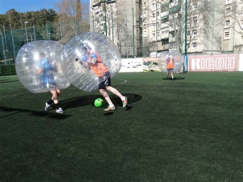 Fútbol burbuja en Bilbao   Bubble Football Bilbao   Soccer