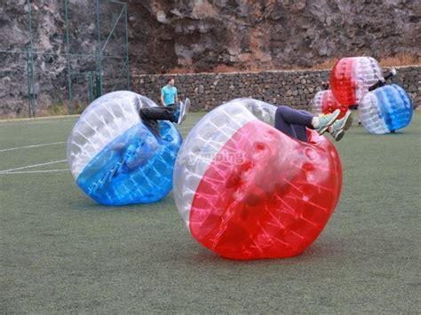 Fútbol Burbuja Tenerife - Zorbing