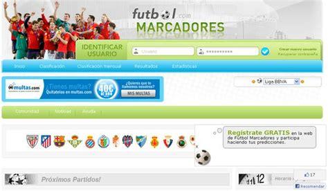 Fútbol Marcadores, juego online para predecir los ...