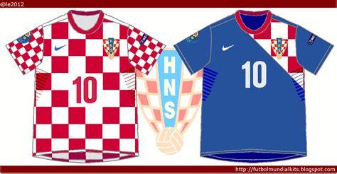 Fútbol Mundial Kits   Uruguay: Selección de Croacia   2012 ...