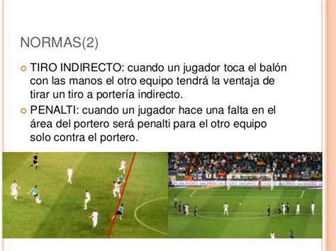 futbol normas