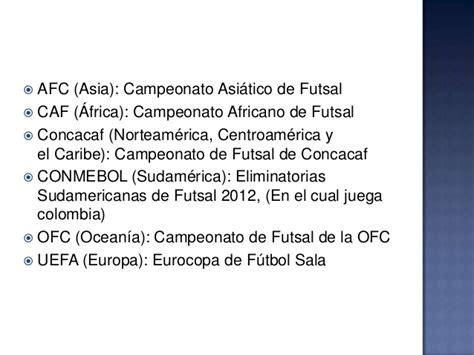 Futbol sala: Campeonatos del mundo