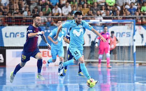 Fútbol sala: Movistar Inter vs Barcelona, en directo el ...