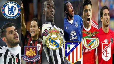 Futbol Stars RUMORES DE FICHAJES 2016/2017 BARCELONA LE ...