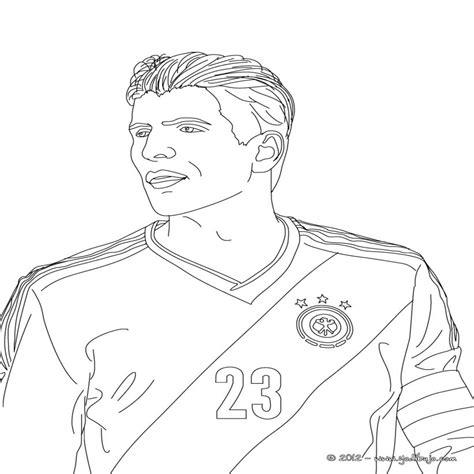 Futbolistas Para Colorear Pintar Los 48 Mejores Jugadores ...
