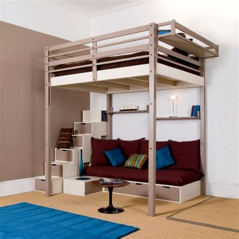 Futon Loft Beds for Teens | Full size bunk beds adults ...