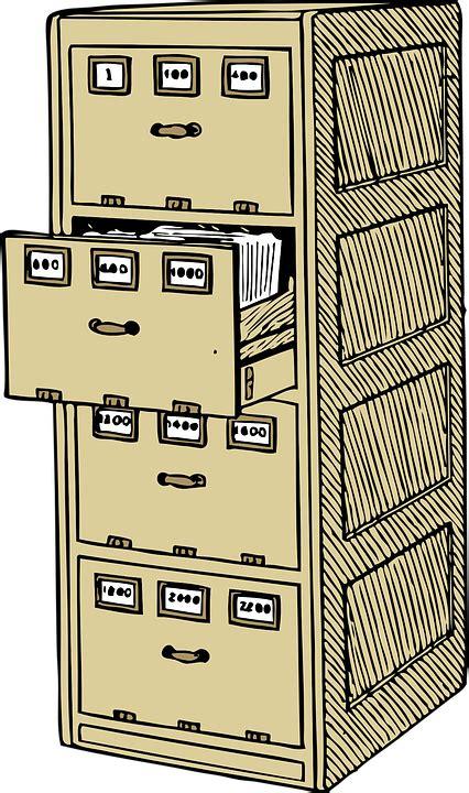 Gabinete De Archivo Oficina Equipo · Gráficos vectoriales ...