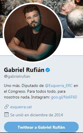 Gabriel Rufián se vuelve a comer doblada una gracieta que ...