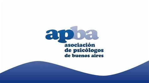 Gaceta Psicologica APBA: APBA INFORMA: LLAMADO A CONCURSO ...