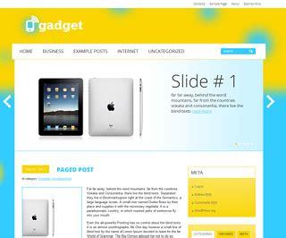 Gadget Blogger Template | Responsive Blogger Templates 2017