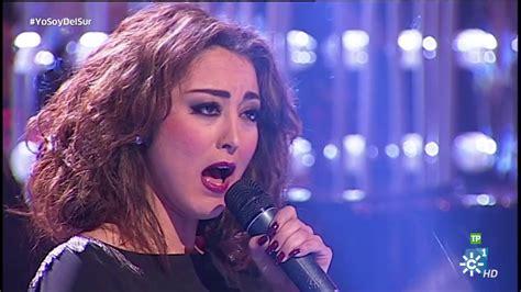 Gala 38. JULIA GARRIDO - A Lola - YouTube