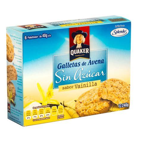 Galletas Avena Vainilla sin Azucar 240 gr
