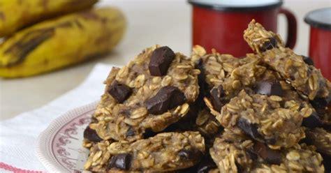 Galletas de avena, plátano y chocolate | Cuuking! Recetas ...