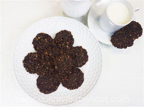 Galletas de avena y chocolate sin azúcar ni harina ...
