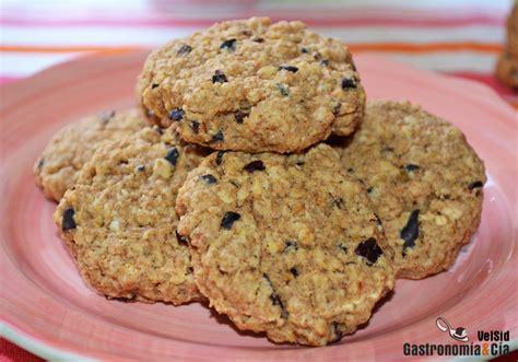 Galletas de avena y nibs de cacao | Gastronomía & Cía