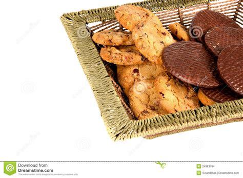 Galletas De Harina De Avena Y Obleas Del Chocolate Foto de ...