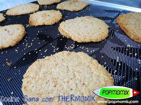 Galletas de Sésamo  Cocina Sana con Thermomix   Video #116 ...