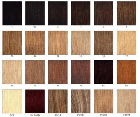 GAMA DE COLORES - extensiones de cabello-Yoy