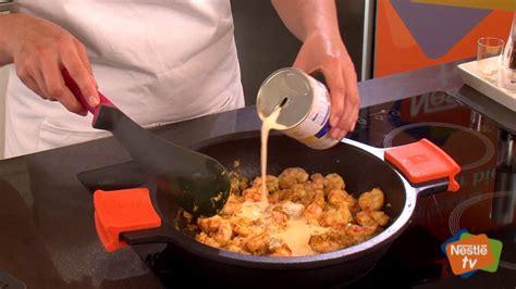 Gambas al curry con arroz salvaje   Recetas rápidas Nestlé ...
