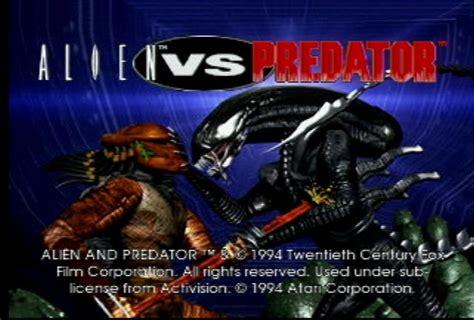 Game Review - Alien Vs. Predator (Atari Jaguar 1994 ...