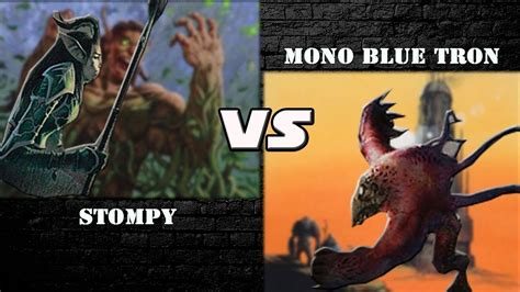 Gameplay - Stompy vs Mono Blue Tron (Pauper) #2 - YouTube