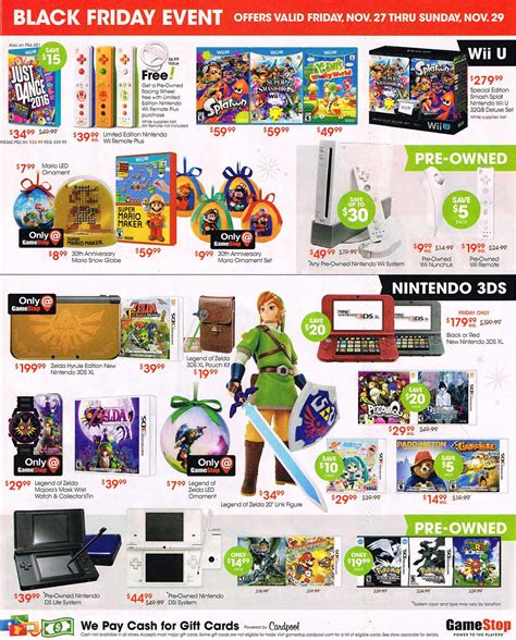 GameStop's Black Friday 2015 ad leaks hot deals for Xbox ...