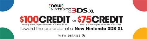 GameStop's New 3DS trade-in offer - Nintendo Everything