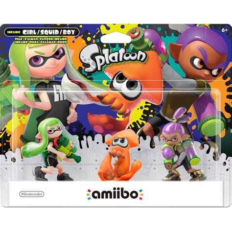 GameStop - Splatoon: Series 2 amiibo 3-pack available for ...