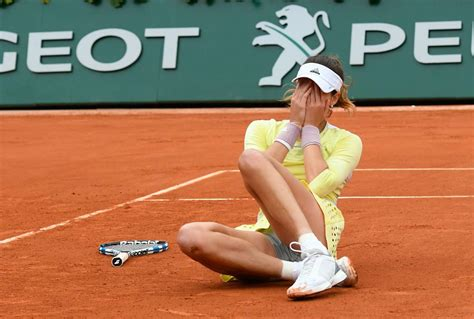 Garbine Muguruza: Ladies Final Match at 2016 Roland Garros ...