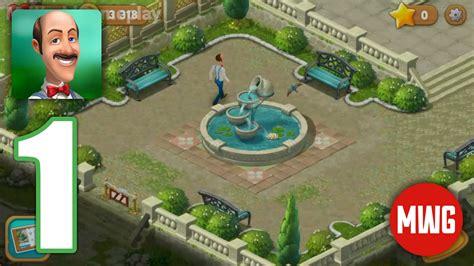 Gardenscapes Dia 1 Gameplay Walktrough en Español #1 (iOS ...