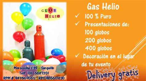 GAS HELIO VENTA, Lima, SURQUILLO   Doplim   271881