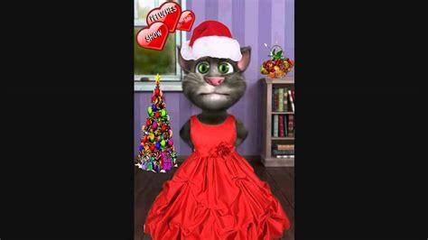 Gato Tom cantando villancicos feliz navidad canción ...