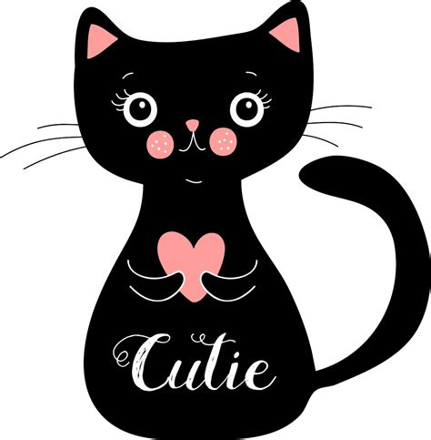 Gatos Kawaii. Imágenes de Gatitos Dibujos para Colorear y ...