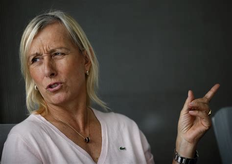 Gay tennis icon Martina Navratilova smashes 'racist and ...