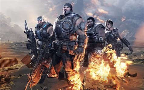 Gears Of War 3 Fondo de pantalla HD | Fondo de Escritorio ...