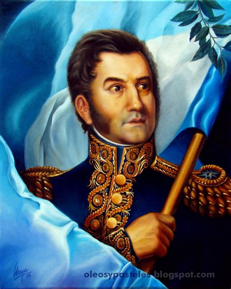 General Don José de San Martín | Oleos y Pasteles