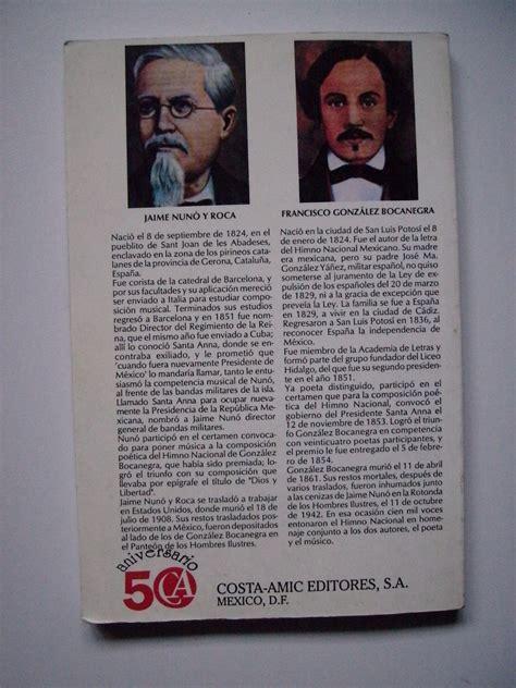 Génesis E Historia Del Himno Nacional Mexicano - 1994 ...