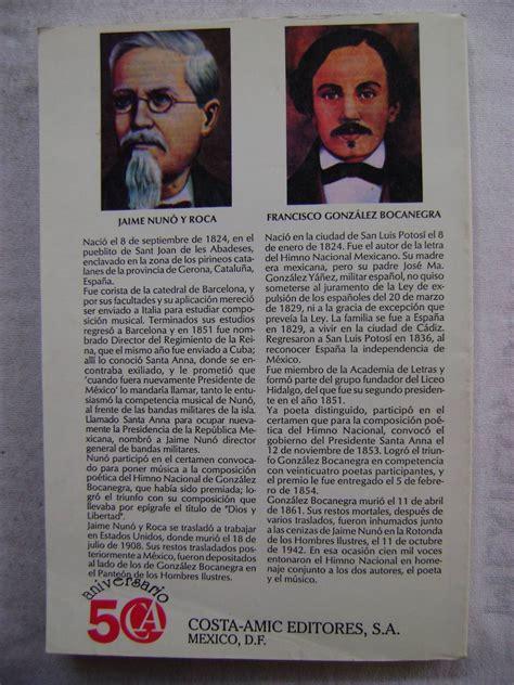 Génesis E Historia Del Himno Nacional Mexicano - Cid Y ...