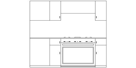 Genial Bloques Autocad Cocina Galería de imágenes . Cad ...