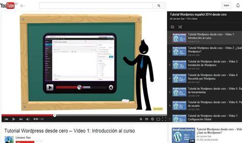Genial vídeo tutorial gratuito de WordPress desde cero ...